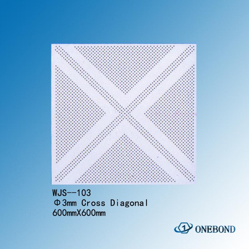 Square ceiling tiles